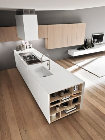 corian@ contertop and kitchen design